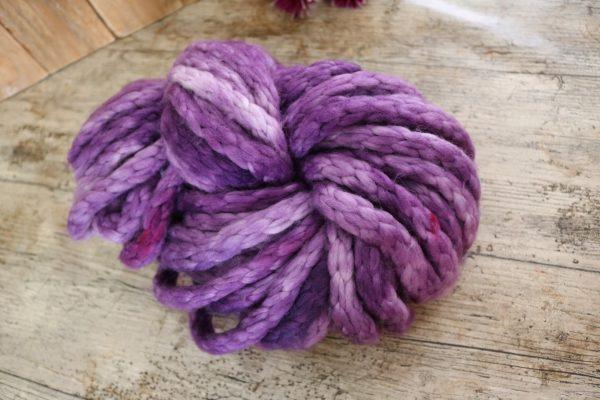 Purple Jumbo Chunky Merino Yarn